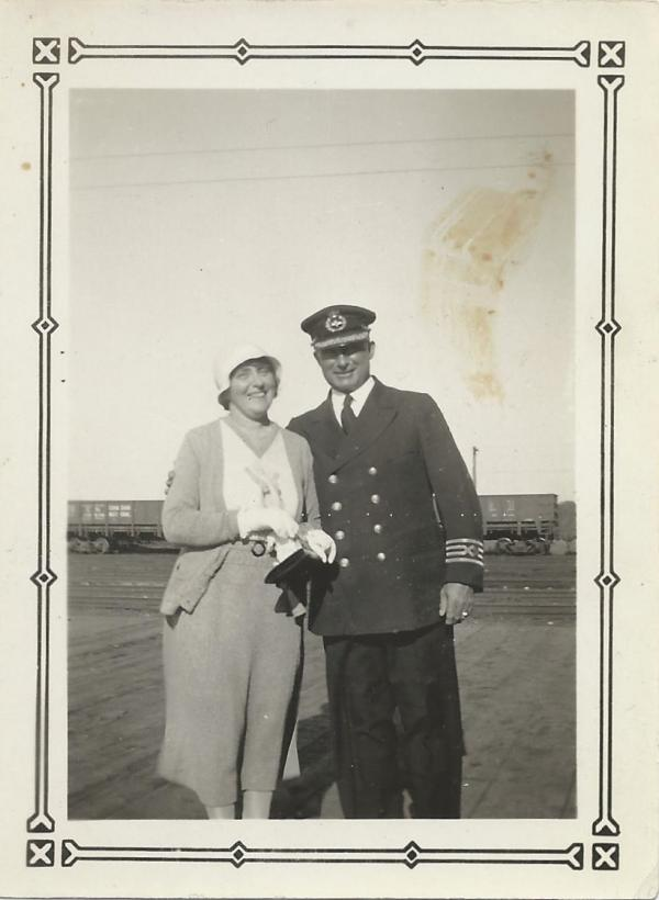 photo of Capt. and Mrs. Taylor