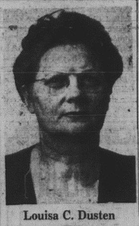 photo of Miss Dusten from Sarnia Observer